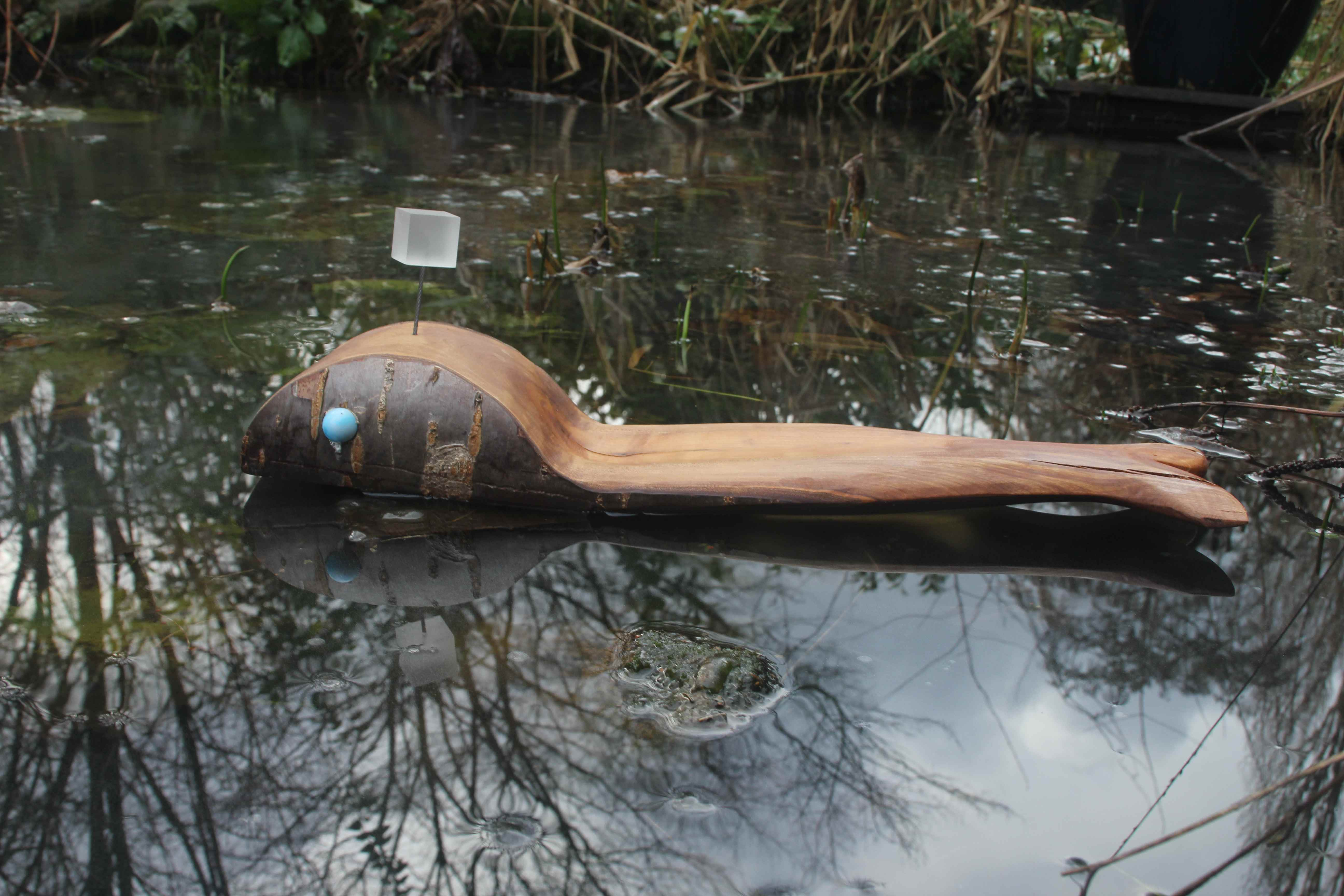 walvis kersenhout tuinbeeld