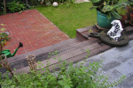 trap tuin hout