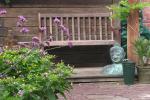 veranda boeddha