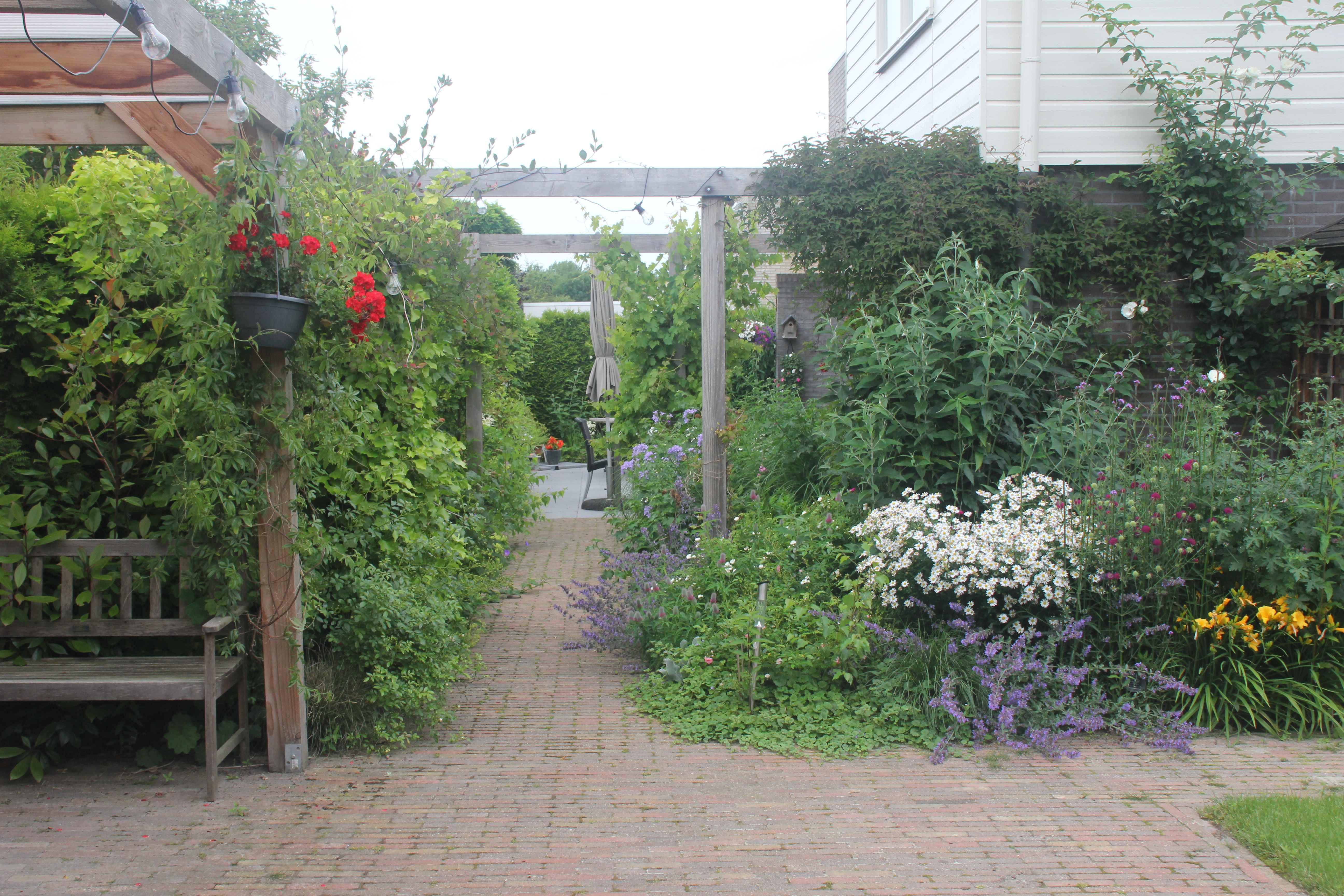 bloemen-doorgang