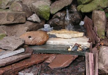 Muurtjes en steen